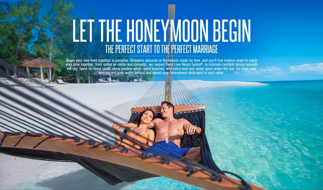 honeymoon at Sandals Resorts